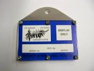 CCF Registration Label Holder, Straight