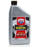 Lucas Synthetic V-Twin Gear Oil, SAE 75w140