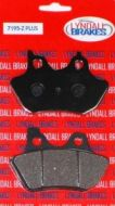 Lyndall Brake Pads, Front / Rear, Sportster, Big Twins & V-Rod 2000-2007