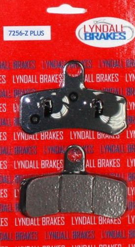 Lyndall Brake Pads, Front, Softail & Dyna 2008-2017