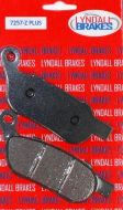 Lyndall Brake Pads, Rear, Softail & Dyna 2008-2017