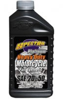 Spectro Synthetic Motorcycle Oil, SAE 20W-50